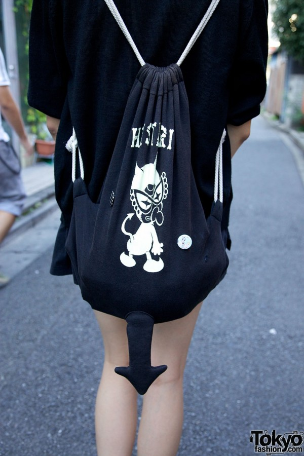 Hysteric Mini Devil Tail Backpack