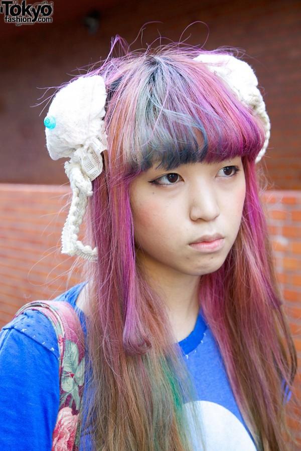 Lace Hair Clips in Harajuku