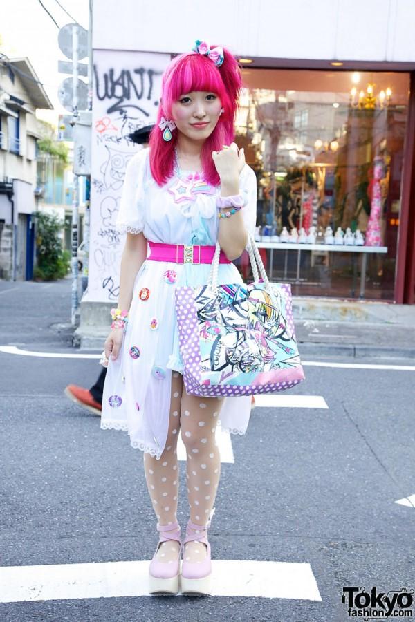 Kumamiki in Cute Harajuku Fashion