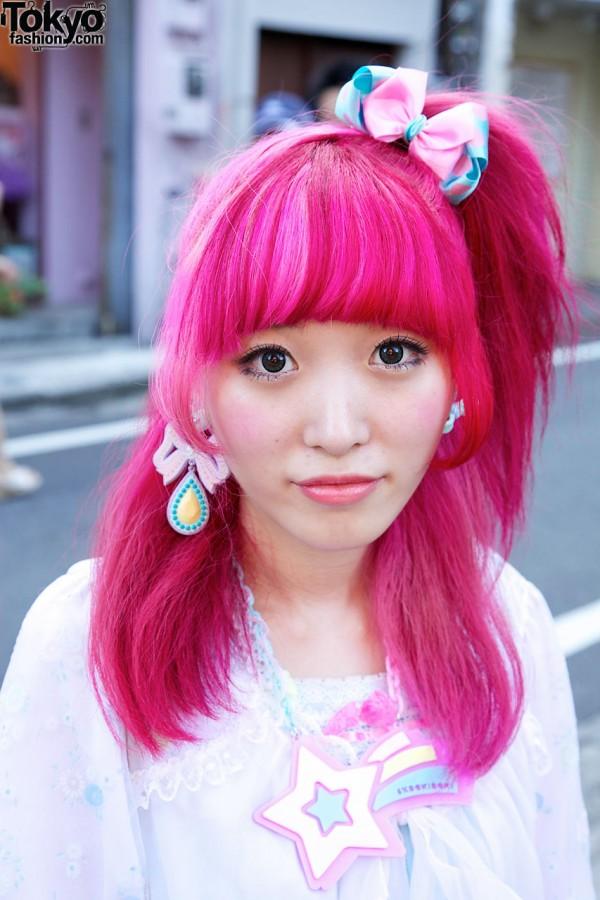 Kumamiki's Pink Harajuku Hairstyle