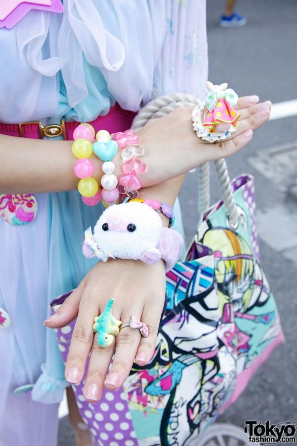 Party Baby & Spank Harajuku Accessories