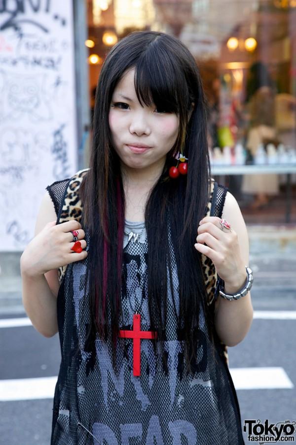 Nadia Harajuku Cherry Earrings