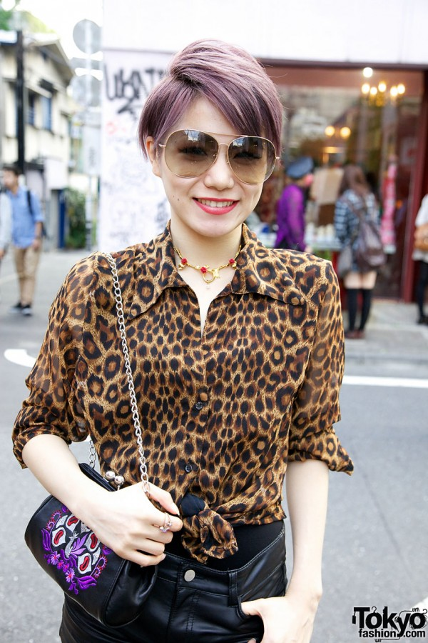 Candy Leopard Print Top