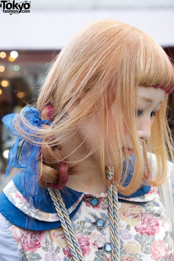 Tiered Collar & Hair Tie in Harajuku