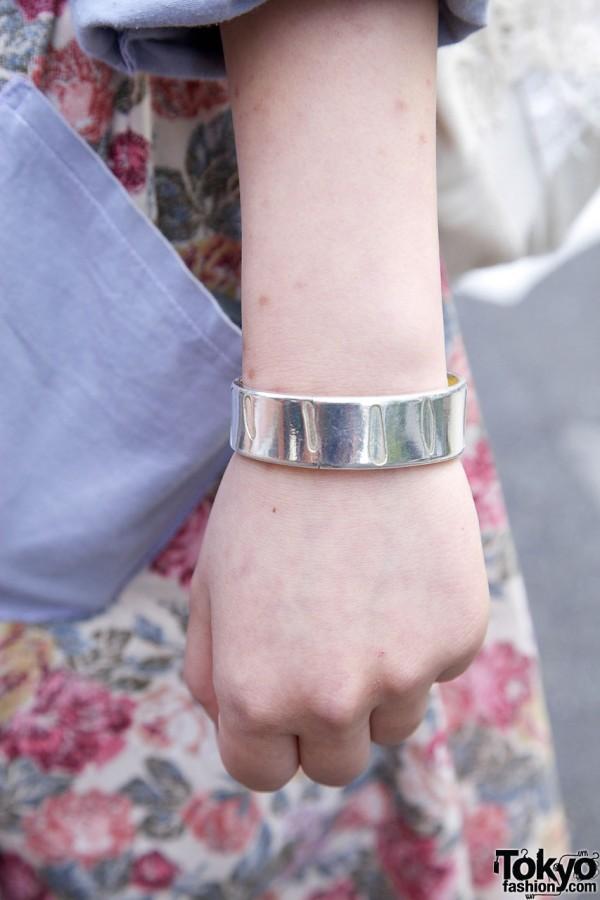 Metal Bracelet in Harajuku