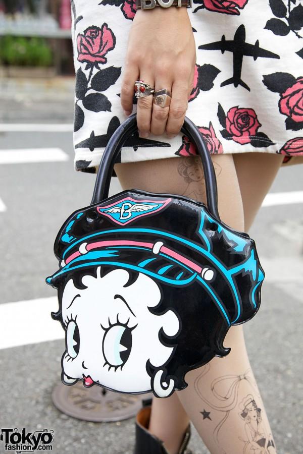 Betty Boop Handbag in Harajuku