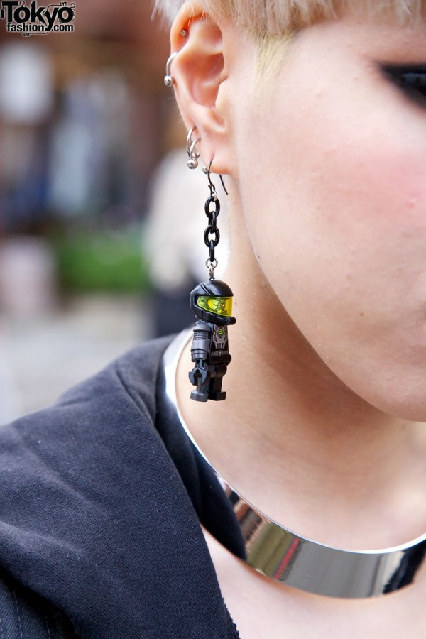Japanese Toy Figure Earring