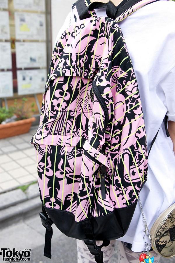 KTZ Graphic Backpack in Harajuku