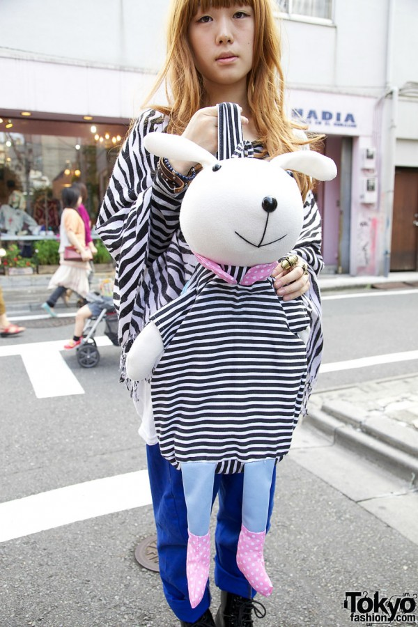 Rabbit Backpack in Harajuku