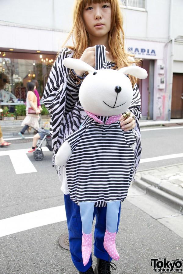 Rabbit Backpack in Harajuku