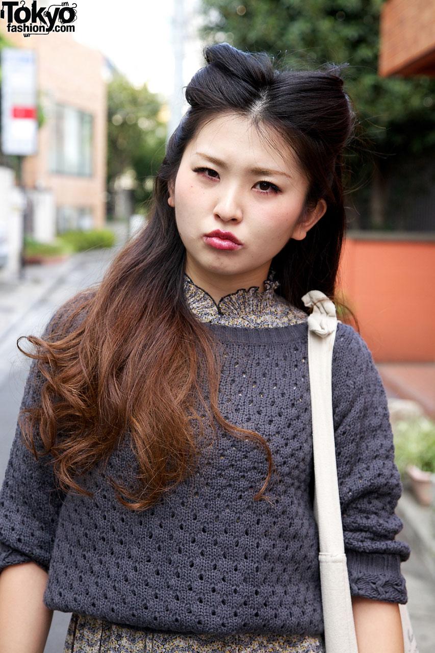 Japanese Rockabilly Hairstyle Tokyo Fashion News