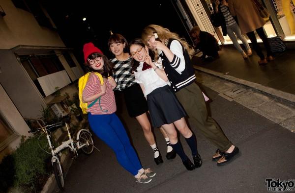 American Apparel Shibuya Halloween Party (5)