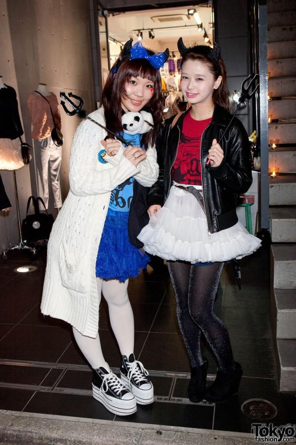 American Apparel Shibuya Halloween Party (8)