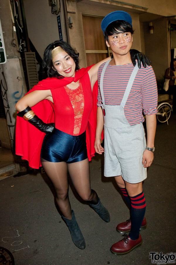 American Apparel Shibuya Halloween Party (16)