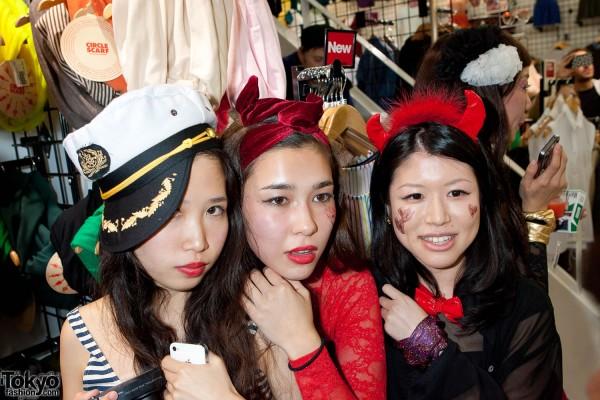 American Apparel Shibuya Halloween Party (40)