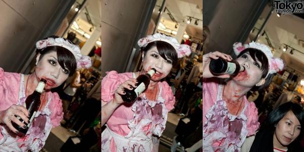 American Apparel Shibuya Halloween Party (53)