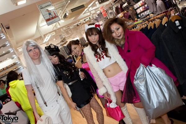 American Apparel Shibuya Halloween Party (55)