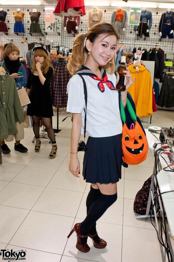 American Apparel Shibuya Halloween Party (70)