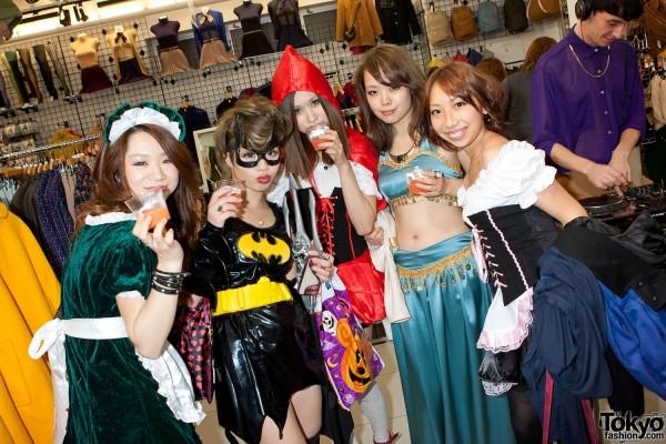 American Apparel Shibuya Halloween Party (91)