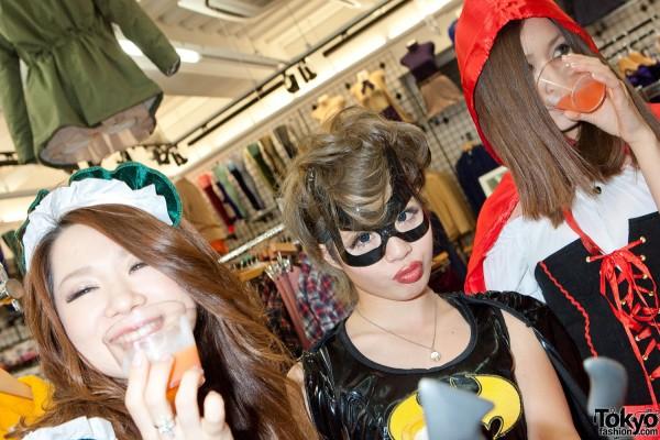 American Apparel Shibuya Halloween Party (92)
