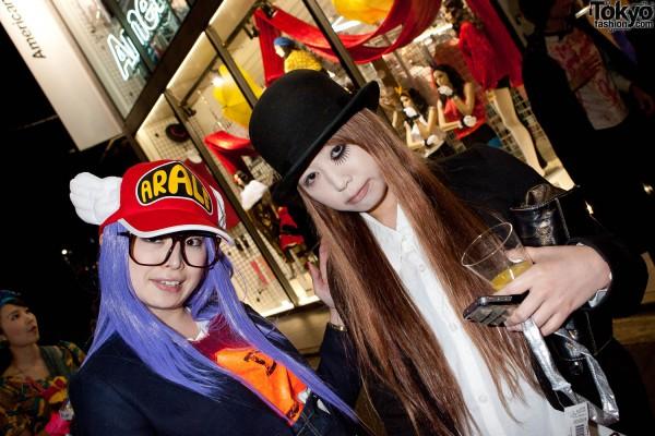 American Apparel Shibuya Halloween Party (99)