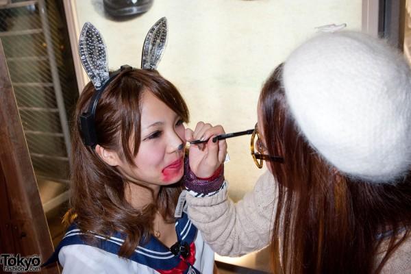 American Apparel Shibuya Halloween Party (102)