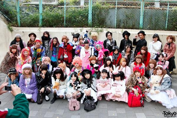 Harajuku Fashion Walk #7 – Pictures of Colorful Japanese Street Fashion on Parade