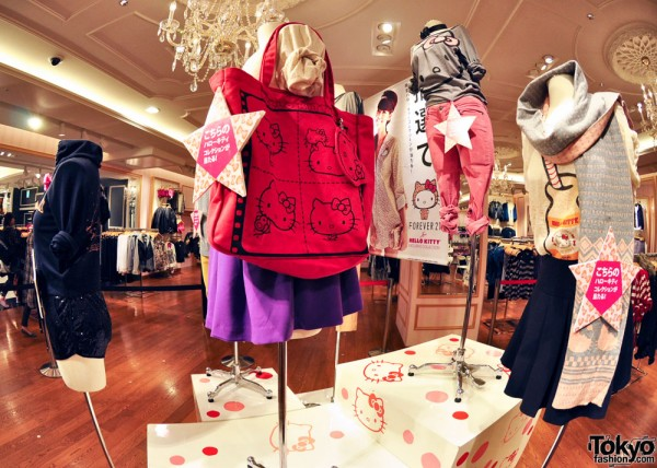 Hello Kitty x Forever 21 Shibuya (6)