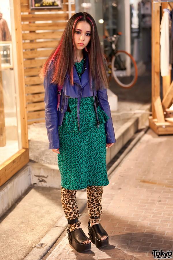 Ikeda Hirari Harajuku Street Style