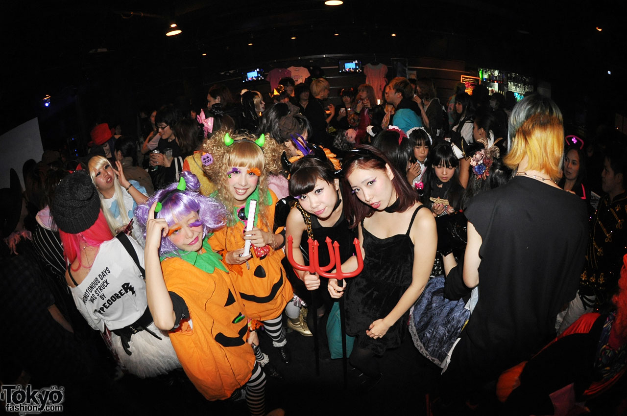 funtasy halloween night party in tokyo 4 - Halloween Night Party
