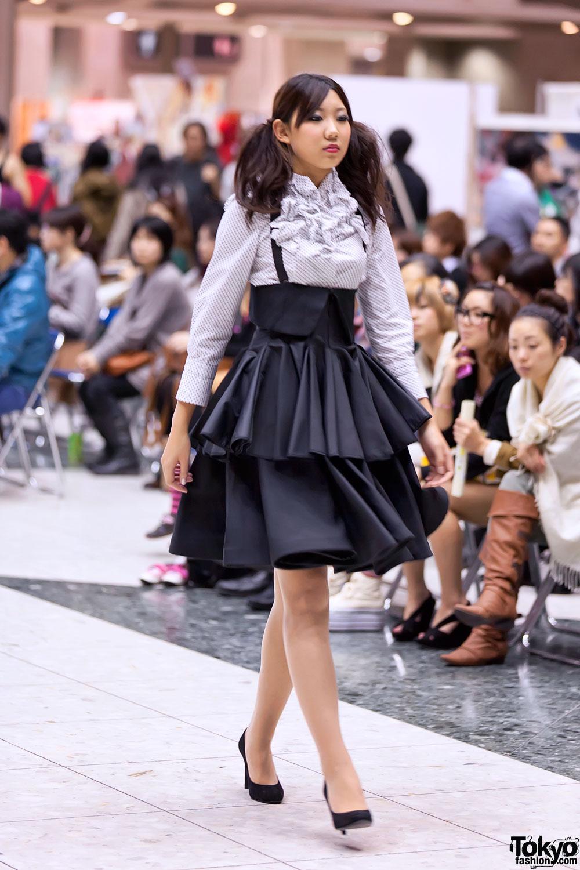 Mejiro Fashion Art College Fashion Show Pictures