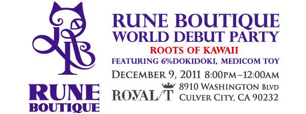 Rune Boutique World Debut