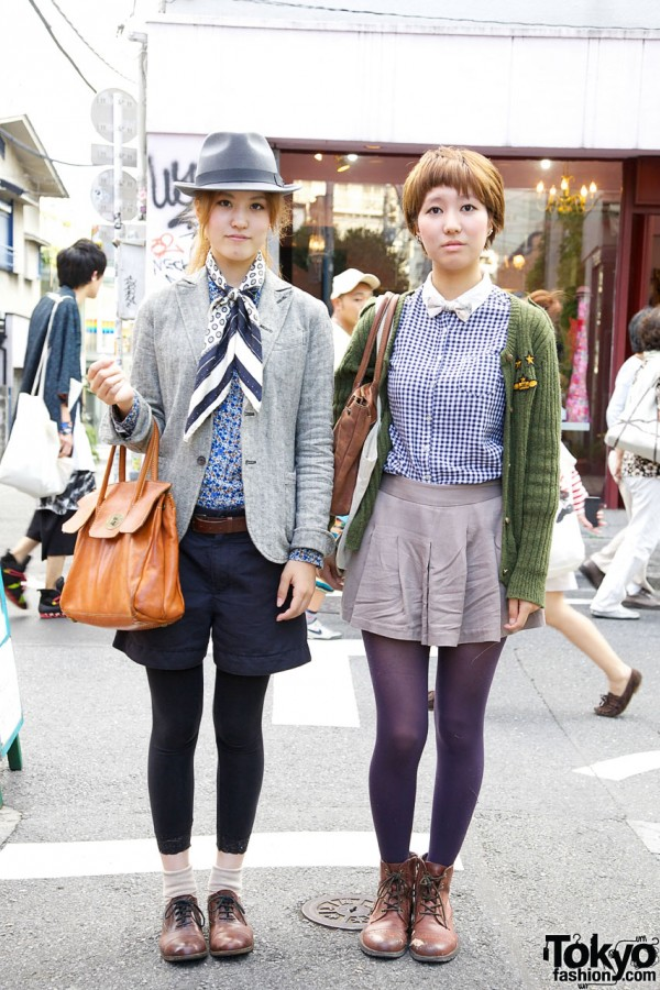 MacPhee jacket & Fedora vs. Pleated Skirt & Liberty Bow Tie