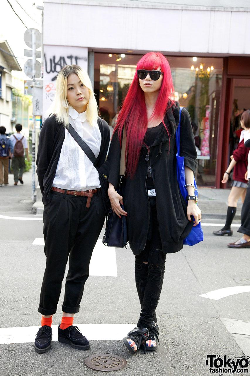 Momo & Sioux in Harajuku