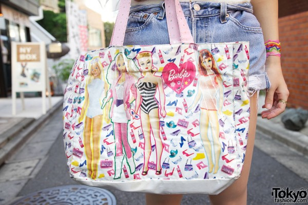 Barbie Handbag in Harajuku