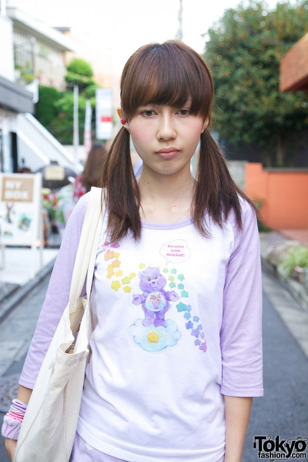 Care Bears x Milkfed in Harajuku