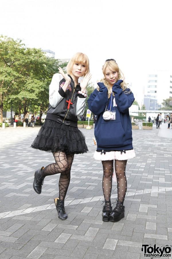 Nadia Satin Jacket & Shirley Temple Furry Shorts in Shinjuku