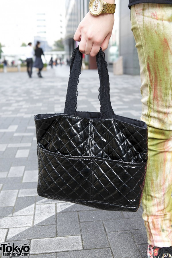 Handmade Quilted Bag in Tokyo