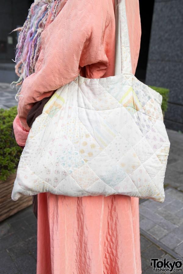 Quilted Keisuke Kanda purse in Shinjuku