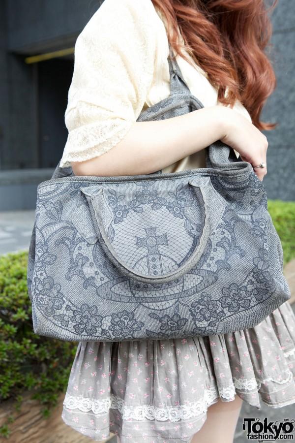 Vivienne Westwood embossed purse