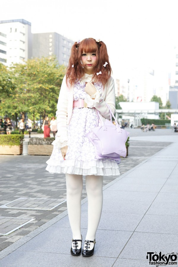 Japanese Girl's Angelic Pretty Dress, F.I.N.T. Shoes & Bows, Bows, Bows