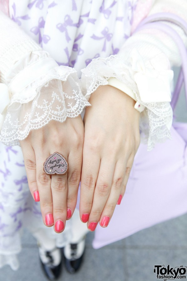 Angelic Pretty Heart Ring
