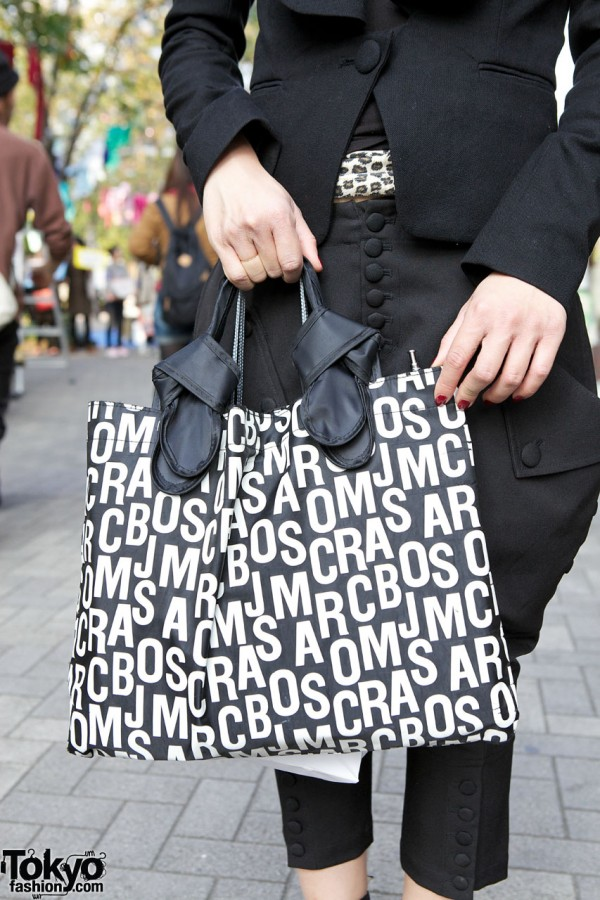 Marc Jacobs logo bag in Shinjuku