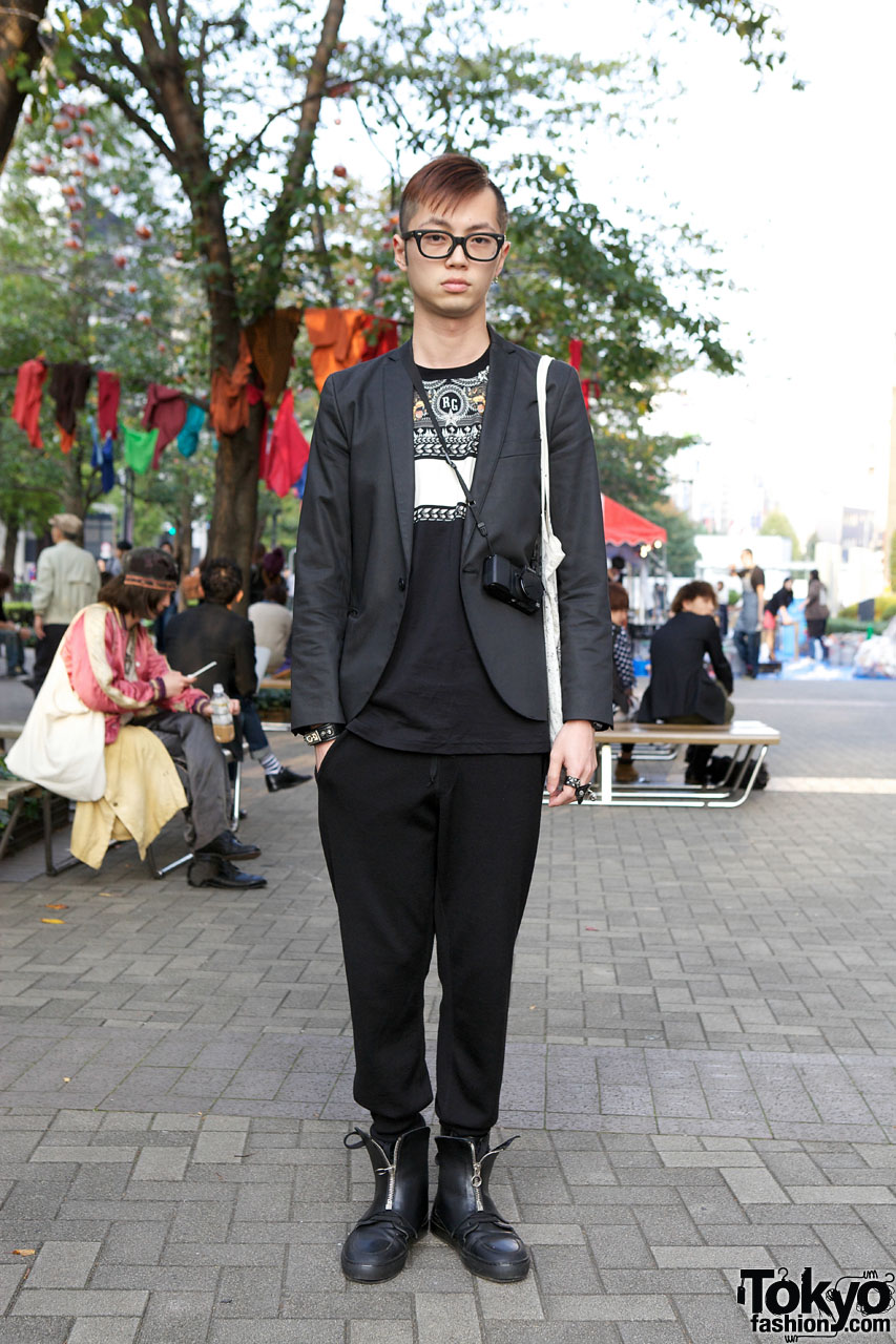 Tokyo Guy in Lanvin & Givenchy