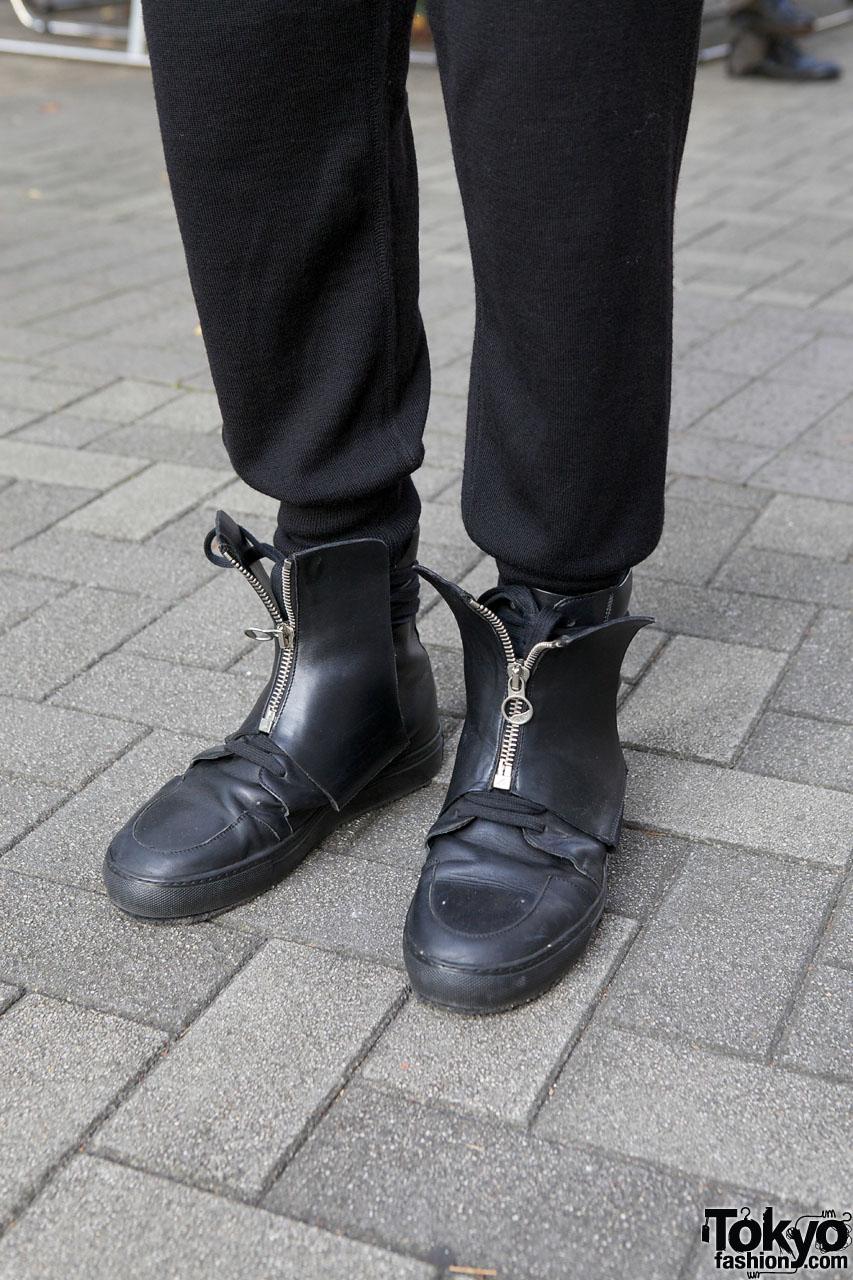 7482d22fc71774 Kris Van Assche Zipper Shoes