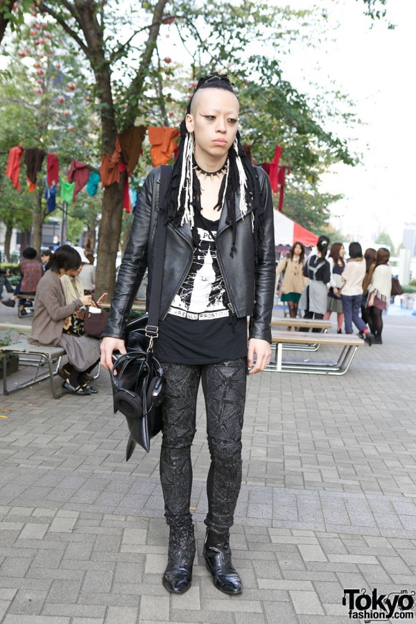 Punk Style Guy in Harajuku