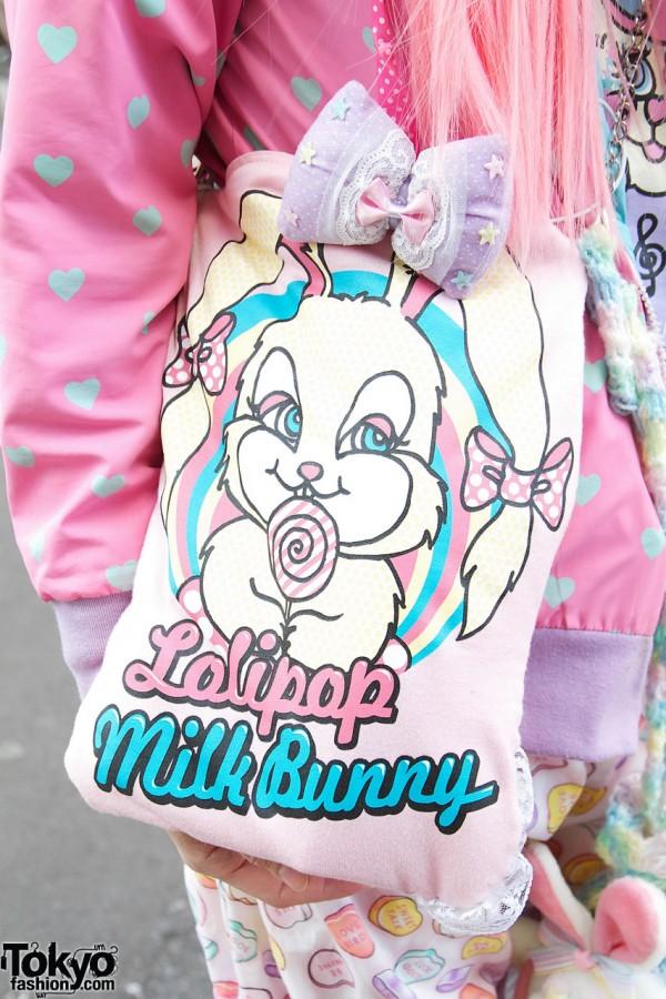 Milk Bunny by Milk Bag in Harajuku