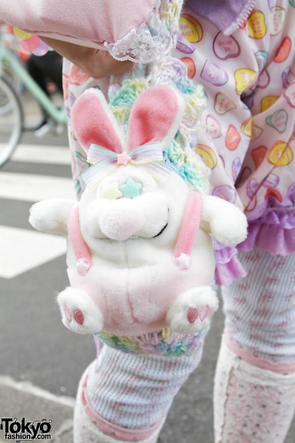 Cute Bunny in Harajuku