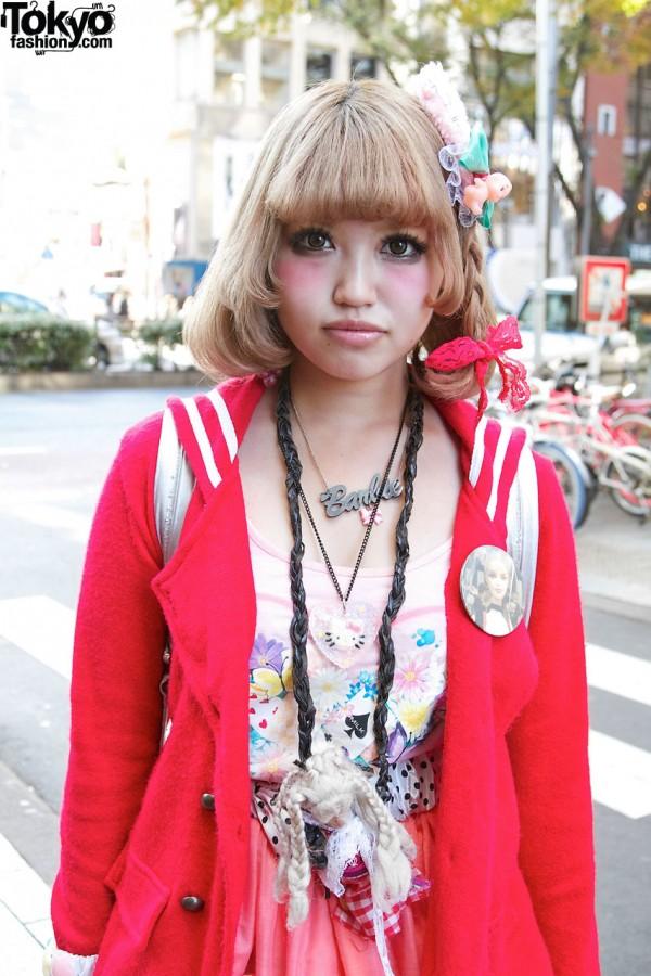 Milk Harajuku Floral Top