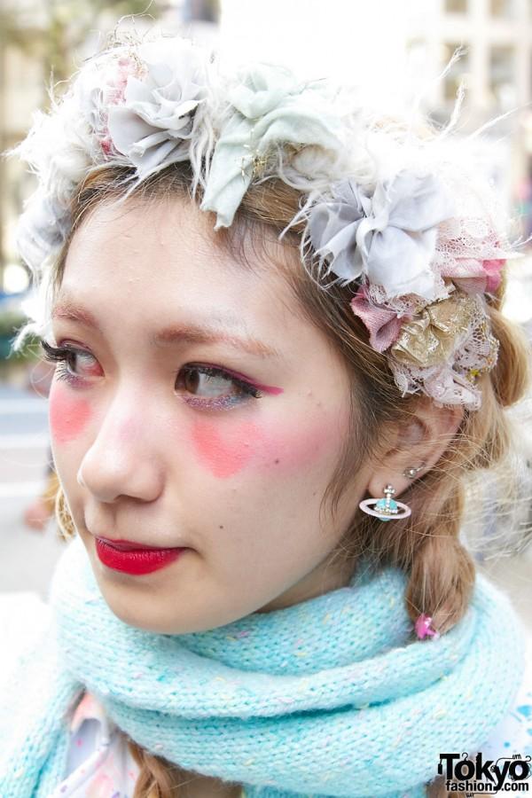 Vivienne Westwood earring in Harajuku